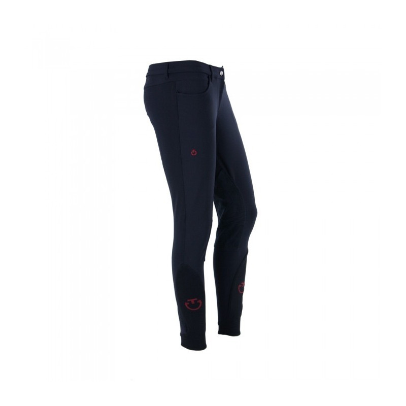 CT barnridbyxa Supergrip Technical 10 ÅR Cavalleria Toscana - 7001 DARK NAVY