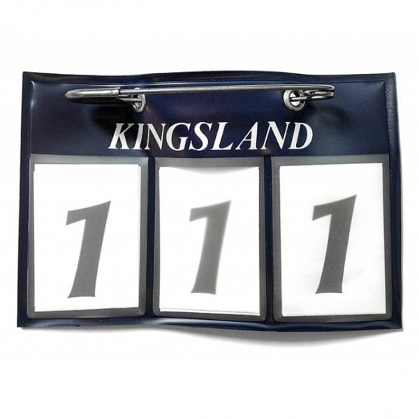Nummerlapp Kingsland Classic Numberplate