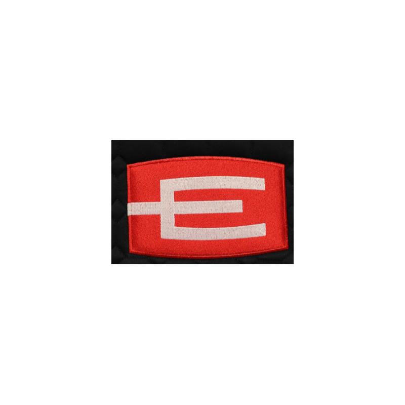 E-logga tillval till Equiline Schabrak, täcke, jacka