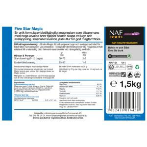 NAF Magic Pulver Ny & Förbättrad 1,5 kg