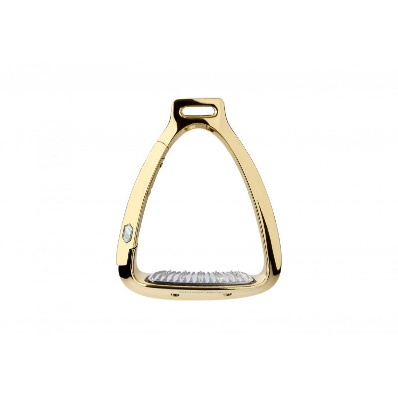 Samshield Shield'Rup säkerhetsstigbygel CHROME GOLD