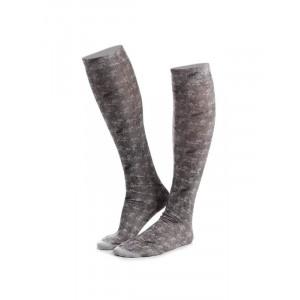 GRÅ ANIMO Tadan18 Socks ridstrumor knähöga