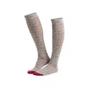 BEIGE ANIMO Tadan18 Socks ridstrumor knähöga