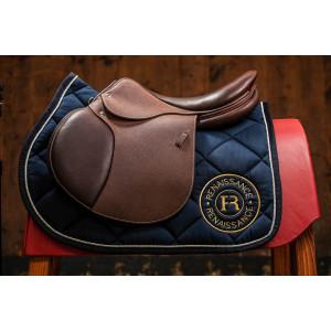 """Renaissance Hoppsadel """"M"""" visar färgvarianter på French leather"""