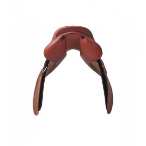 "Renaissance Hoppsadel ""H"" Flatseat French leather no blocks"