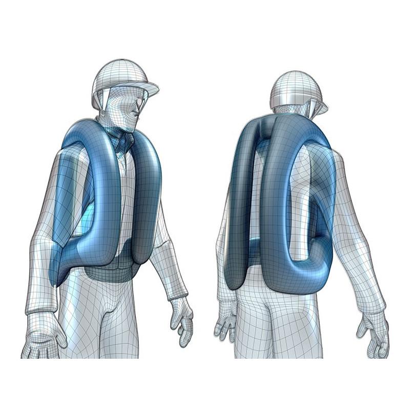 Helite Softshelljacka + airbag KOMPLETT