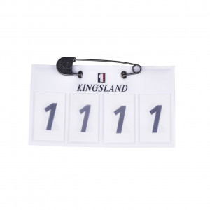 Kingsland Tabit Numberplate 4-siffrig nummerlapp