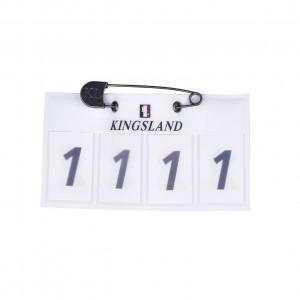 Kingsland Tabit Numberplate 4-siffrig nummerlapp