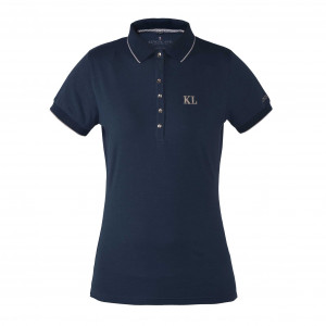 KL Manilva ladies Cotton Polo Shirt pikétröja bomull Kingsland