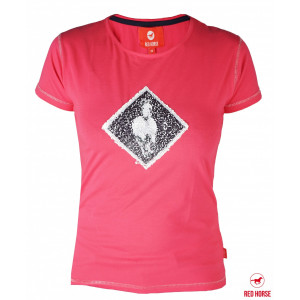 Barntröja Caliber ROSA Horka Red Horse