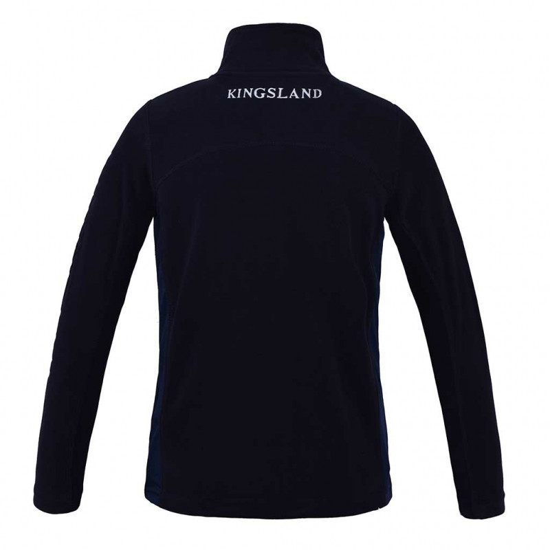 Malaga Junior Micro Fleece Jacket Kingsland navy