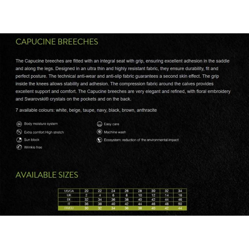Samshield Capucine helskodd damridbyxa info
