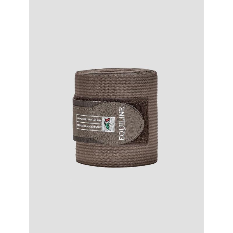 Equiline Sandown work bandage fleece elastik Cappucino