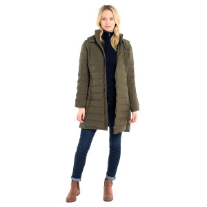 Devlin Quilted Coat dunkappa Dubarry