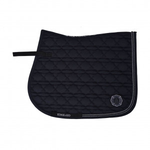 KLkenai Saddle Pad Coolmax Hoppschabrak Kingsland BLACK