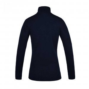 KLchevak Ladies Knitted Roll Neck tröja Kingsland NAVY
