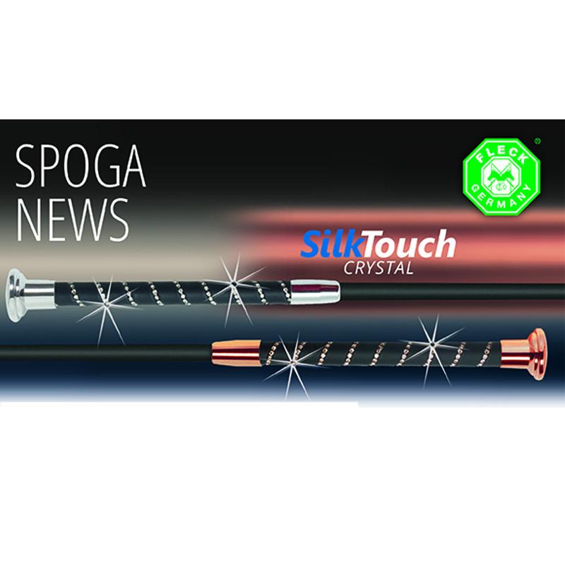 Silk Touch Crystal Hoppspö svart&chrome 60 cm FLECK
