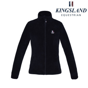 Zoes ladies Coral Fleece Jacket Kingsland navyblue