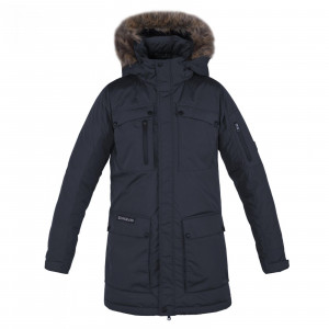 Lews Unisex Long Down Parka Kingsland navy