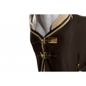 Sweat Rug Jersey Brand Faux Fur Heritage svettäcke Eskadron BRUNT