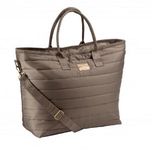 Eskadron Glossy Shopper Bag Väska TAUPE FW19-20