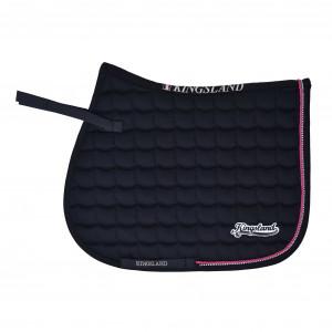 Kingsland Rigaud Saddle Pad Coolmax Hoppschabrak NAVY