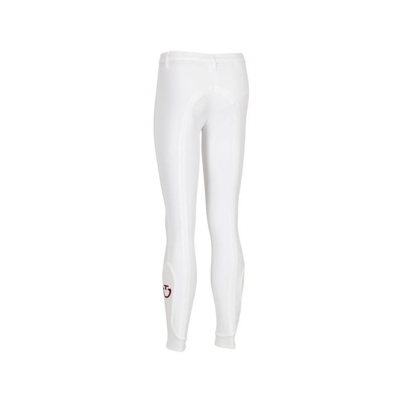 Ridbyxa barn Supergrip Technical - Cavalleria Toscana CT barnridbyxa Supergrip Technical 10 ÅR Cavalleria Toscana - 0001 WHITE