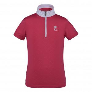 Pinosa Tävlingsskjorta Junior Kingsland Rosa