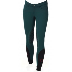 CT Girls Color Grip breeches barnridbyxa Cavalleria Toscana 5800 PETROL