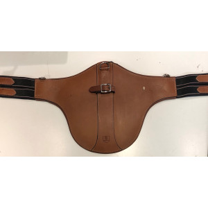 Sadelgjord Magplatta Treadstone cognac