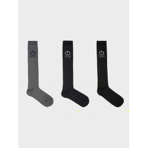 Ridstrumpor Light Full Logo Socks 3-pack Cavalleria Toscana CT-CZN023-AB023