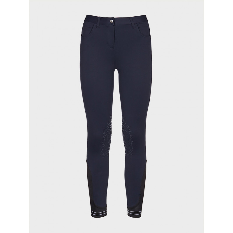 CT Barnridbyxa Girls Piquet Breeches Cavalleria Toscana COL 8100 CT-PA004-PA010
