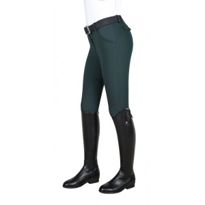 Equiline Boston damridbyxa tygskodd BOTTLEGREEN