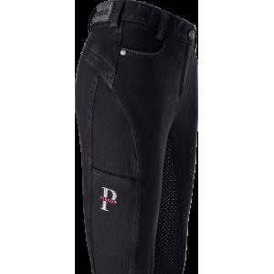 Tesia Grip Jeans Fullgrip helskodd jeansridbyxa Pikeur