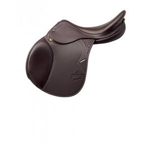 Prestige Hoppsadel Versailles OBS!!! Bilden visar en kalvskinnsklädd sadel!
