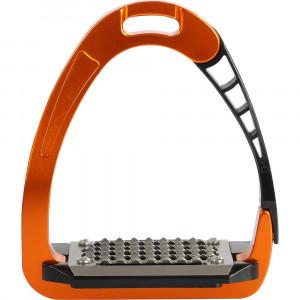 Arena Alupro Aluminium säkerhetsstigbyglar Acavallo orange