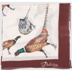 Dubarry Scarf Tullynally - Tullynally Silk Scarf - Pheasant