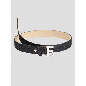 Equiline Glamour Black Lurex Belt damskärp