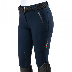 Damridbyxa cargo knee grip B-Move N08868 Equiline