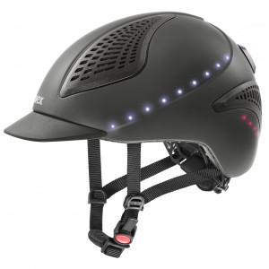 Ridhjälm Uvex Exxential II LED