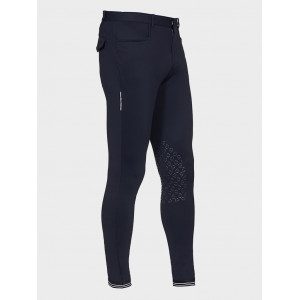 CT New Grip System Breeches w/perforated Logo Tape herrridbyxa - navyblue