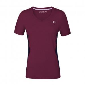 KLjaslyn Ladies V-neck Training Shirt Kingsland KL-211-PT-720