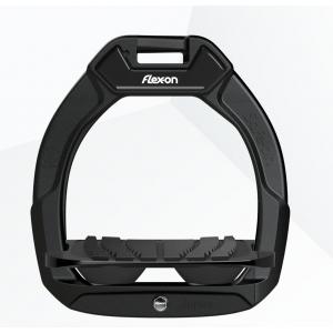 Flex-on Safe-on Junior säkerhetsstigbygel black/black