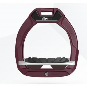 Flex-on Safe-on Junior säkerhetsstigbygel Burgundy/Grey/DarkBrown