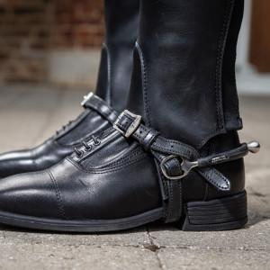 Dyón Sporremmar i läder