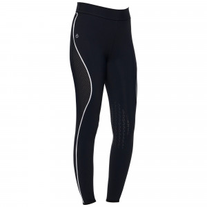 21FWP_PAD147_JE115_7901_Cavalleria Toscana High Waist Perforated Insert Leggings ridbyxtights