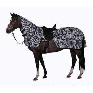 Flugtäcke ridtäcke Zebra...