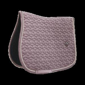 Kentucky saddle pad velvet sammetsschabrak Light Purple