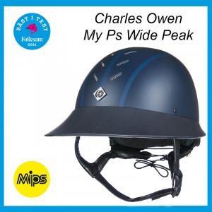 MyPs Wide peak ridhjälm MIPS Charles Owen - vinnare av Folksams stora hjälmtest - bäst i test som säkraste ridhjälmen 2021!