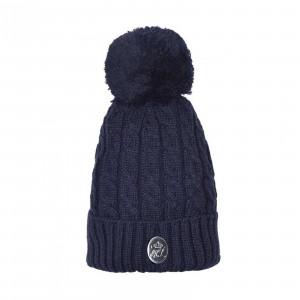 KLdot ladies cable knitted Hat Mössa Kingsland NAVY